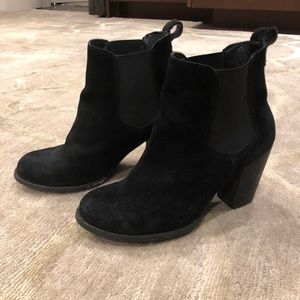 Steven Madden P. Rigger Ankle Boots in Black